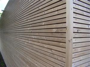 Verduurzaamd hout gevelbekleding