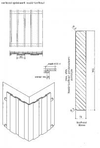 verticaal-opdekwerk